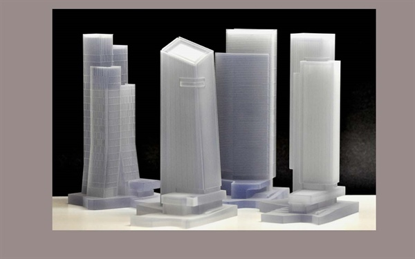 Architectural Models with Sharp Details
